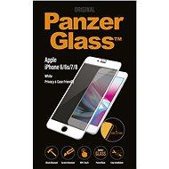 PanzerGlass Edge-to-Edge Privacy pre Apple iPhone 6/6s/7/8 biele - Ochranné sklo