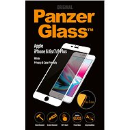 PanzerGlass Edge-to-Edge Privacy pre Apple iPhone 6/6s/7/8 Plus biele - Ochranné sklo