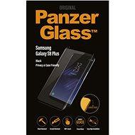 PanzerGlass Premium Privacy pre Samsung Galaxy S8 Plus čierne - Ochranné sklo
