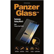 PanzerGlass Premium Privacy pre Samsung Galaxy Note 8 čierne - Ochranné sklo