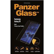 PanzerGlass Premium Privacy pre Samsung Galaxy S9 čierne - Ochranné sklo