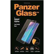 PanzerGlass Premium na Huawei P30 Pro čierne - Ochranné sklo