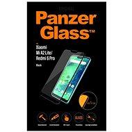 PanzerGlass Edge-to-Edge na Xiaomi Mi A2 Lite/Redmi 6 Pro čierne - Ochranné sklo
