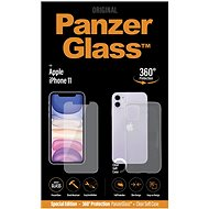 PanzerGlass Standard Bundle pre Apple iPhone 11 (Standard fit + Clear TPU Case)