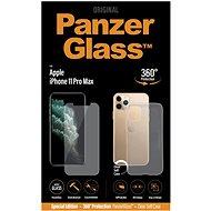 Ochranné sklo PanzerGlass Standard Bundle pre Apple iPhone 11 Pro Max (Standard fit + Clear TPU Case)