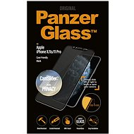 PanzerGlass Edge-to-Edge Privacy pre Apple iPhone X/XS/11 Pro čierne s CamSlider