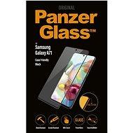 PanzerGlass Edge-to-Edge pre Samsung Galaxy A71 čierne - Ochranné sklo
