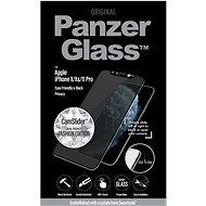 PanzerGlass Edge-to-Edge Privacy pre iPhone X/Xs/11 Pro čierne Swarovski CamSlider