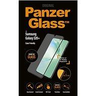 PanzerGlass Edge-to-Edge pre Samsung Galaxy S20+ čierne (Biometric Glass) - Ochranné sklo