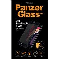 PanzerGlass Edge-to-Edge Privacy na Apple iPhone 6/6s/7/8/SE (2020) čierne - Ochranné sklo