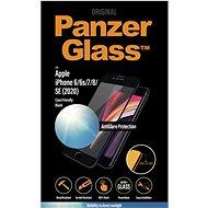 PanzerGlass Edge-to-Edge pre Apple iPhone 6/6s/7/8/SE 2020 čierne s Anti-Glare - Ochranné sklo