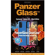 PanzerGlass ClearCase pre Samsung Galaxy S20 Black edition