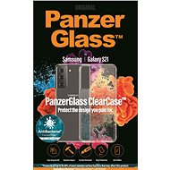 Puzdro na mobil PanzerGlass ClearCase Antibacterial pre Samsung Galaxy S21 - Pouzdro na mobil