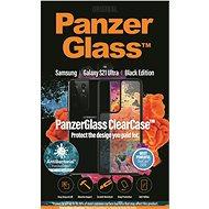 Puzdro na mobil PanzerGlass ClearCase Antibacterial pre Samsung Galaxy S21 Ultra Black edition - Pouzdro na mobil