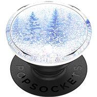 PopSockets PopGrip Gen.2, Tidepool Snowglobe Forest, zimný les v tekutine so snehom - Držiak na mobil