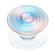 Držiak na mobil PopSockets PopGrip Gen.2, Ripple Opalescent Blue, opalizujúci, 3D bielo-modravý
