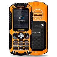 MyPhone Hammer Plus oranžovo-čierny