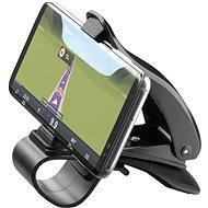 CellularLine Pilot View čierny - Držiak na mobil