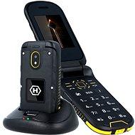 myPhone HAMMER Bow Plus oranžovo-čierny - Mobilný telefón