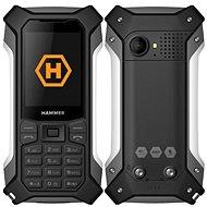 MyPhone Hammer Patriot strieborný - Mobilný telefón