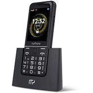 myPhone Halo Q Senior čierna - Mobilný telefón