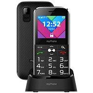 MyPhone Halo C Senior čierny - Mobilný telefón