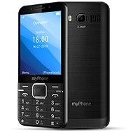 MyPhone Up čierny - Mobilný telefón