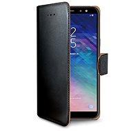 CELLY Wally pre Samsung Galaxy A6 Plus čierne - Puzdro na mobil