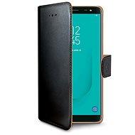 CELLY Wally pre Samsung Galaxy J6 čierne - Puzdro na mobil