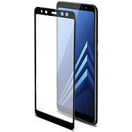 CELLY 3D Glass pre Samsung Galaxy A8 Plus (2018) čierne
