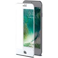 CELLY 3D Glass pre Apple iPhone 7/8 biele - Ochranné sklo