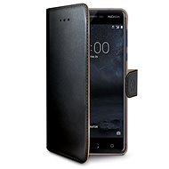 CELLY Wally na Nokia 5 čierne - Puzdro na mobil