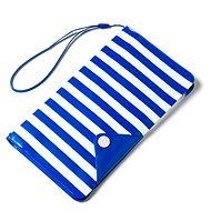 """CELLY Splash Wallet pre telefóny 5,7"""" modré - Puzdro na mobil"""