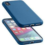 CellularLine SENSATION pre Apple iPhone XS Max modrý - Kryt na mobil