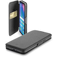 CellularLine Book Clutch na Huawei P30 Lite čierne - Puzdro na mobil