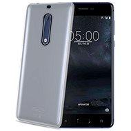 CELLY Gelskin pre Nokia 5 bezfarebný - Kryt na mobil