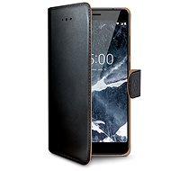 CELLY Wally pre Nokia 5.1/Nokia 5 (2018) čierne - Puzdro na mobil