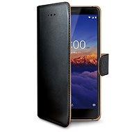 CELLY Wally pre Nokia 3.1/Nokia 3 (2018) čierne