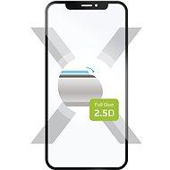 FIXED FullGLue-Cover na Huawei Mate 30 Lite, lepenie cez celý displej, čierne
