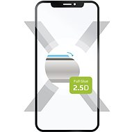 FIXED FullGlue-Cover na Huawei Y9 Prime (2019), lepenie cez celý displej, čierne