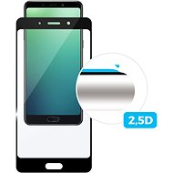 FIXED FullGlue-Cover na Nokia 3.2, lepenie cez celý displej, čierne