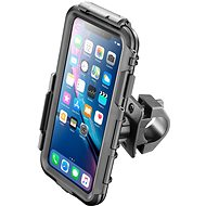 CELLULARLINE Interphone pre Apple iPhone XR, prichytenie na riadidlá, čierne - Puzdro na mobil