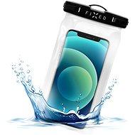 FIXED Float s uzamykacím systémom a certifikáciou IPX8 čierne - Puzdro na mobil