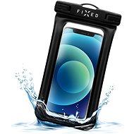 FIXED Float Edge s uzamykacím systémom a certifikáciou IPX8 čierne - Puzdro na mobil