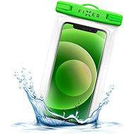 FIXED Float Edge s uzamykacím systémom a certifikáciou IPX8 limetkové - Puzdro na mobil