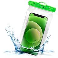 FIXED Float s uzamykacím systémom a certifikáciou IPX8 limetkové - Puzdro na mobil