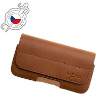 FIXED Genuine Cowhide Leather Horizontal Size 5XL Brown - Mobile Phone Case