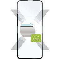 FIXED FullGlue-Cover pre Samsung Galaxy A51 čierne - Ochranné sklo