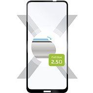 FIXED FullGlue-Cover pre Nokia X10/X20 čierne - Ochranné sklo