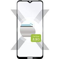 FIXED FullGlue-Cover pre Xiaomi Redmi 9A/9C čierne - Ochranné sklo